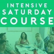 saturday intensive spanish course